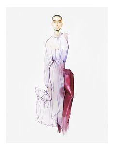 Illustration.Files: Vetements S/S 2017 Fashion Illustration by Nuno Da Costa