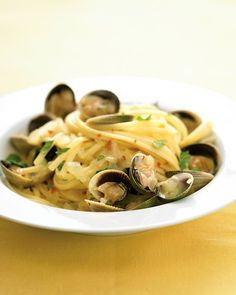 Clam Linguine, my fave.