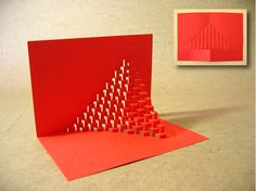 """If you still don't have plans for coming weekend here is a tip. Kirigami is a variation of origami that includes cutting of the paper (from Japanese """"kiru"""" = to Origami Templates, Origami And Kirigami, Paper Crafts Origami, Diy Paper, Box Templates, Oragami, Kirigami Tutorial, Paper Pop, Card Patterns"""