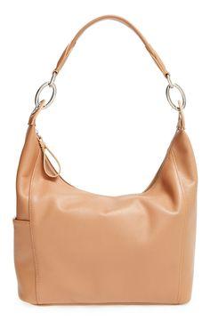 Longchamp 'small Le Foulonne' Hobo Bag In Natural Longchamp Backpack, Longchamp Neo, Designer Handbags Outlet, Fashion Bags, Mom Fashion, Fashion 2016, Fashion Styles, Runway Fashion, Fall Fashion