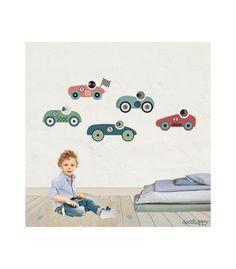 Vinilo-infantil-de-tela-coches-carreras