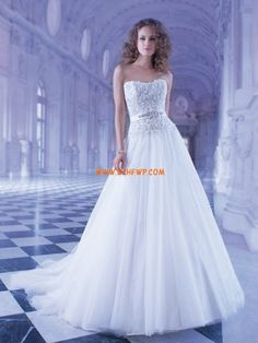 Tul Sin Mangas Natural Vestidos de novias 2013