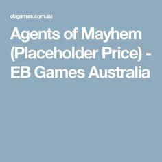 Agents of Mayhem (Placeholder Price) - EB Games Australia