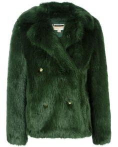 ac2eec70d15d89 MICHAEL Michael Kors | Blue Green Short Coat | Lyst Michael Kors Jackets, Michael  Kors
