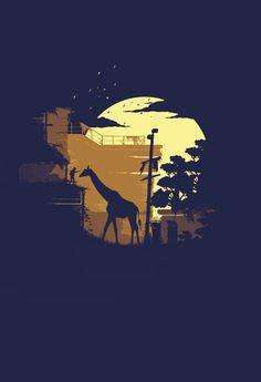The Last of Us- Giraffe.