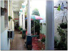 Patio Interior. Cuba, Colonial, Patio, Interior, Ferns, Islands, Indoor, Interiors, Terrace
