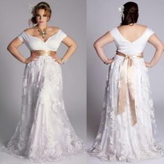 2015 Vintage Plus Size Wedding Dresses