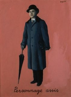 Rene Magritte🍁💮🍁More Pins Like This At FOSTERGINGER @ Pinterest 🍁🉐🍁