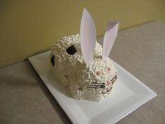 How to Make a 3D Bunny Cake