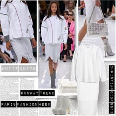 PFW SS15 Christian Dior Trend White Knits