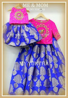 Elegant collection Mommy Daughter Dresses, Baby Girl Dresses, Baby Dress, Kids Dress Wear, Kids Gown, Kids Frocks, Frocks For Girls, Kids Blouse Designs, Kids Ethnic Wear