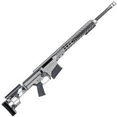 Barrett Firearms Manufacturing MRAD Bolt Action Rifle .338 Lapua Mag 26 Fluted Barrel 10 Rounds Folding Stock Gray CeraKote Finish 14388