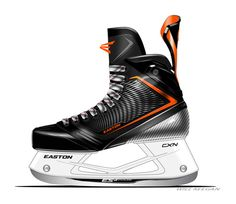 Easton Mako Hockey Skates on Behance