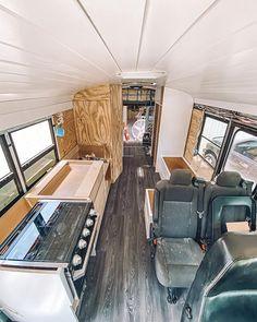 Our Van Quest Van Conversion Plans, Van Conversion Interior, Sprinter Van Conversion, Campervan Interior, Rv Interior, Motorhome, Self Build Campervan, Camper Furniture, Minivan Camping