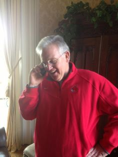Governor Jay Nixon calling to congradulate Coach Kim Anderson on winning the National Championship! He later appeared at the pep rally and gave a speech celebrating the victory!