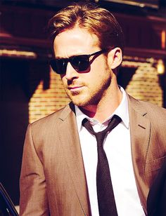 "Ryan Gosling, rising star and lead in one of my favourites of 2011, ""Drive""."