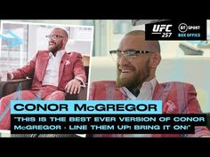 """""""Line them up! Bring it on!"""" Conor McGregor ready to takeover the lightweight division   UFC 257 - YouTube"""