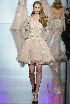 Zuhair Murad couture spring 2015 runway.