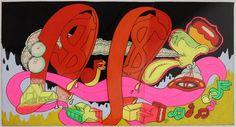 Untitled - Golden Gate Bridge by Peter Saul on artnet Auctions