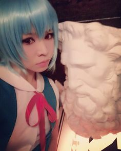 #cosplay#cosplayer#anime#animecosplay#asian #otaku#コスプレ#コスプレイヤ#綾波レイ#エヴァンゲリオン#evangelion#reiayanami#ayanamirei#EVAくん#と#撮った