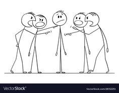 Cartoon man or businessman who is blamed Vector Image , Pencil Drawings Of Flowers, Fish Drawings, Cartoon Drawings, Cute Drawings, Cartoon Crazy, Cartoon Man, Giraffe Drawing, Drawing S, Stick Figure Drawing