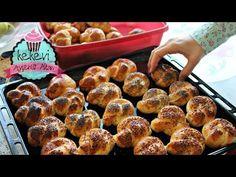 Akşamdan Mayalı Hamur Hazırlama / Düğüm Açma Çörek Tarifi | Ayşenur Altan - YouTube Homemade Beauty Products, Pretzel Bites, Muffin, Health Fitness, Bread, Breakfast, Recipes, Food, Youtube
