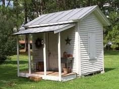 garden sheds with covered porch - Google Search