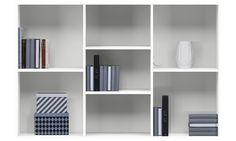 Bookcases - Como bookcase - White - Lacquered