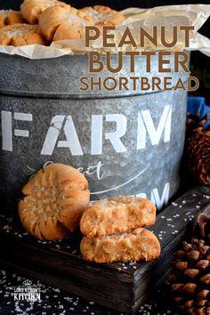 Peanut Butter Shortbread Cookies - Lord Byron's Kitchen Butter Shortbread Cookies, Chewy Peanut Butter Cookies, Buttery Cookies, Chocolate Cookies, Best Butter Tart Recipe, Butter Tarts, Baking Recipes, Cookie Recipes, Dessert Recipes