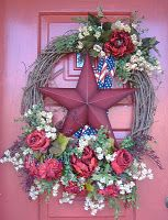 June Wreath ... so pretty. from: thewreathartist.b...