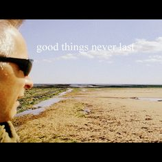 good things never last cover art