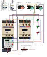 Esquemas eléctricos: INVERSION MANUAL DEL SENTIDO DE GIRO DE UN MOTOR T...