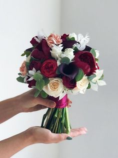 24 Unique Wedding Bouquet Ideas from Flowerna.ru - Oh The Wedding Day Is Coming Spring Wedding Bouquets, Purple Wedding Bouquets, Flower Bouquet Wedding, Luxury Wedding, Wedding Bride, Wedding Dress Organza, Wedding Dresses, Long Bridesmaid Dresses, Unique Weddings