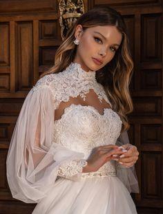 White Lace Wedding Dress, Dream Wedding Dresses, Bridal Dresses, Wedding Dress Cape, Turkish Wedding Dress, Queen Wedding Dress, Victorian Wedding Dresses, Designer Wedding Dresses, Beautiful Wedding Dress