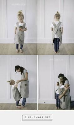 pinafore apron pattern for child and adult ... More