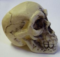 polymer clay skull tutorial - Google Search