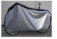 KLOUD ® Silver & Black 190T nylon waterproof bike / bicycle cover (size: LL Bike Cover, Cover Size, Cool Bikes, Outdoor Gear, Drawstring Backpack