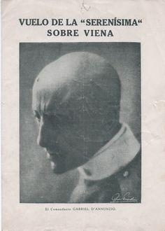 """Anna Jorba Ricart. Música y cultura. Arte: Antiguo folleto sobre el Vuelo de la """"Serenísima"""" ..."""