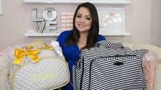 Como fazer uma mochila maternidade,para carregar coisas de bebê | Cantinho do Video