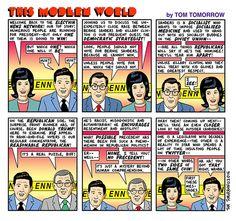 Election News Network (Tom Tomorrow, This Modern World)