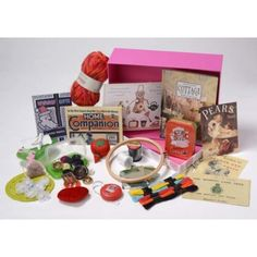 Make do and Mend Rummage Box