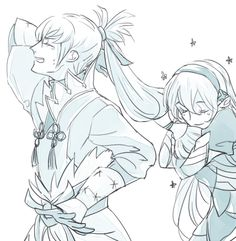 Fire Emblem: If/Fates - Kamui and Takumi