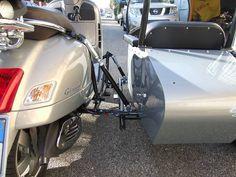 Vespa Gts 300 con sidecar di nostra produzione Vespa 300, Sidecar, Motorcycle, Bike, Wheels, Windows, Image, Trailers, Ramen