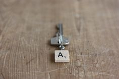Scrabble Tile Keychain - Morning Creativity