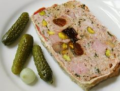 Cooking Weekends: Pork Terrine with Pistachios, Apricots and Prunes