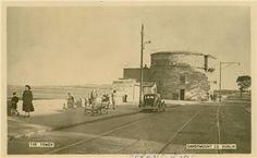 Martello Tower Sandymount 1940s   MajorCalloway   Flickr Old Photos, Vintage Photos, Photo Engraving, Old Postcards, Dublin, 1940s, Ireland, Past, Tower