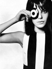 David Bailey. Portrait of Jane Birkin for Vogue UK, 1965