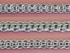 Chainmaille weaves