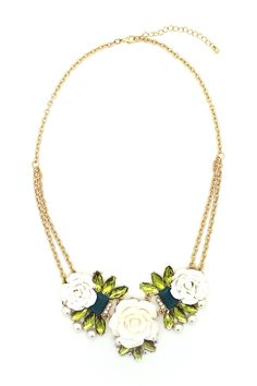 Pretty Flower Necklace by Eye Candy Los Angeles on @HauteLook