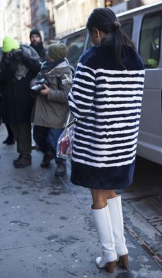 Street Style Fashion Week: The Most Exciting Fashion From Day 2 Of NYFW Fall 2014